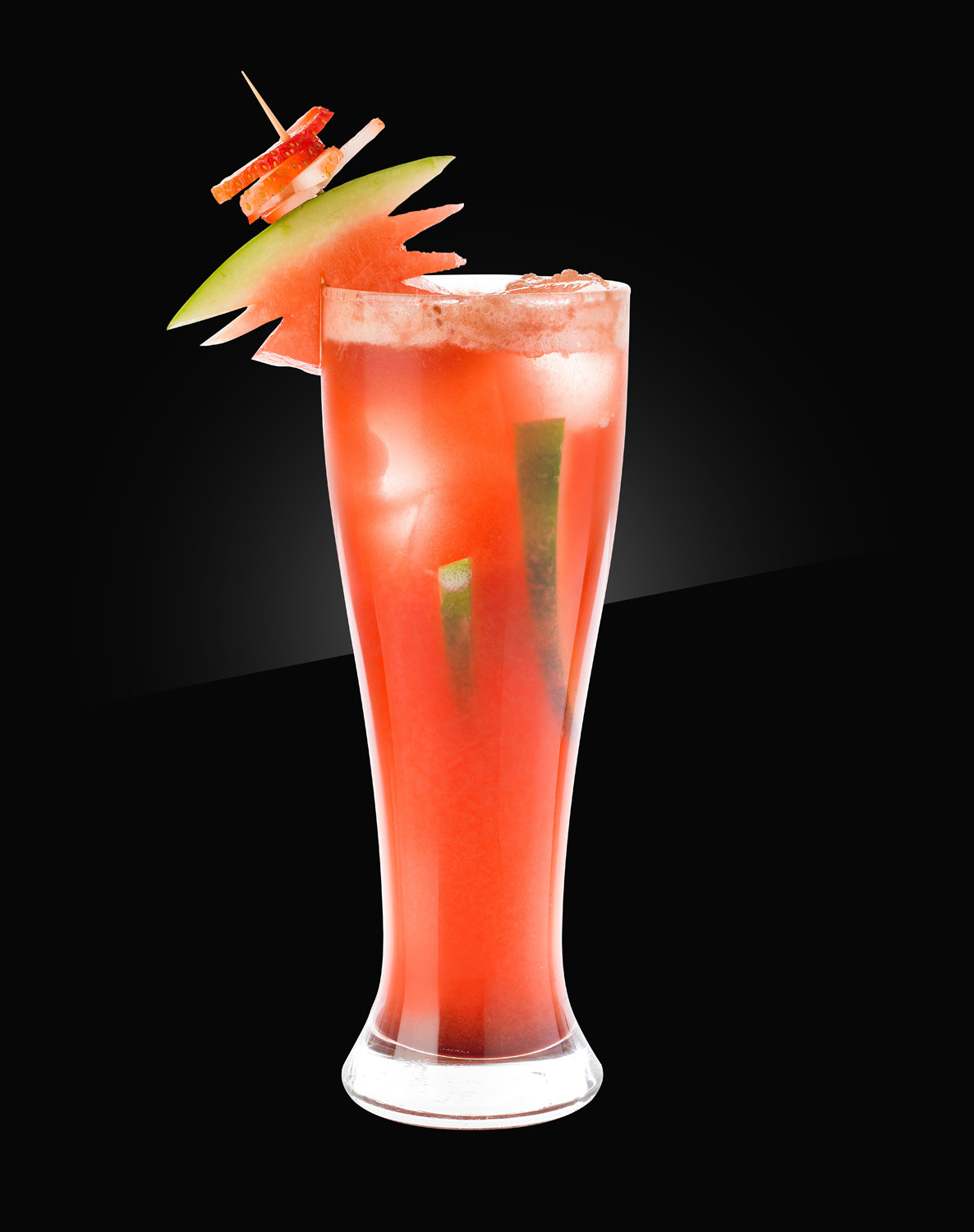 HERB non alcoholic Mocktail berry-watermelon-beer-punch