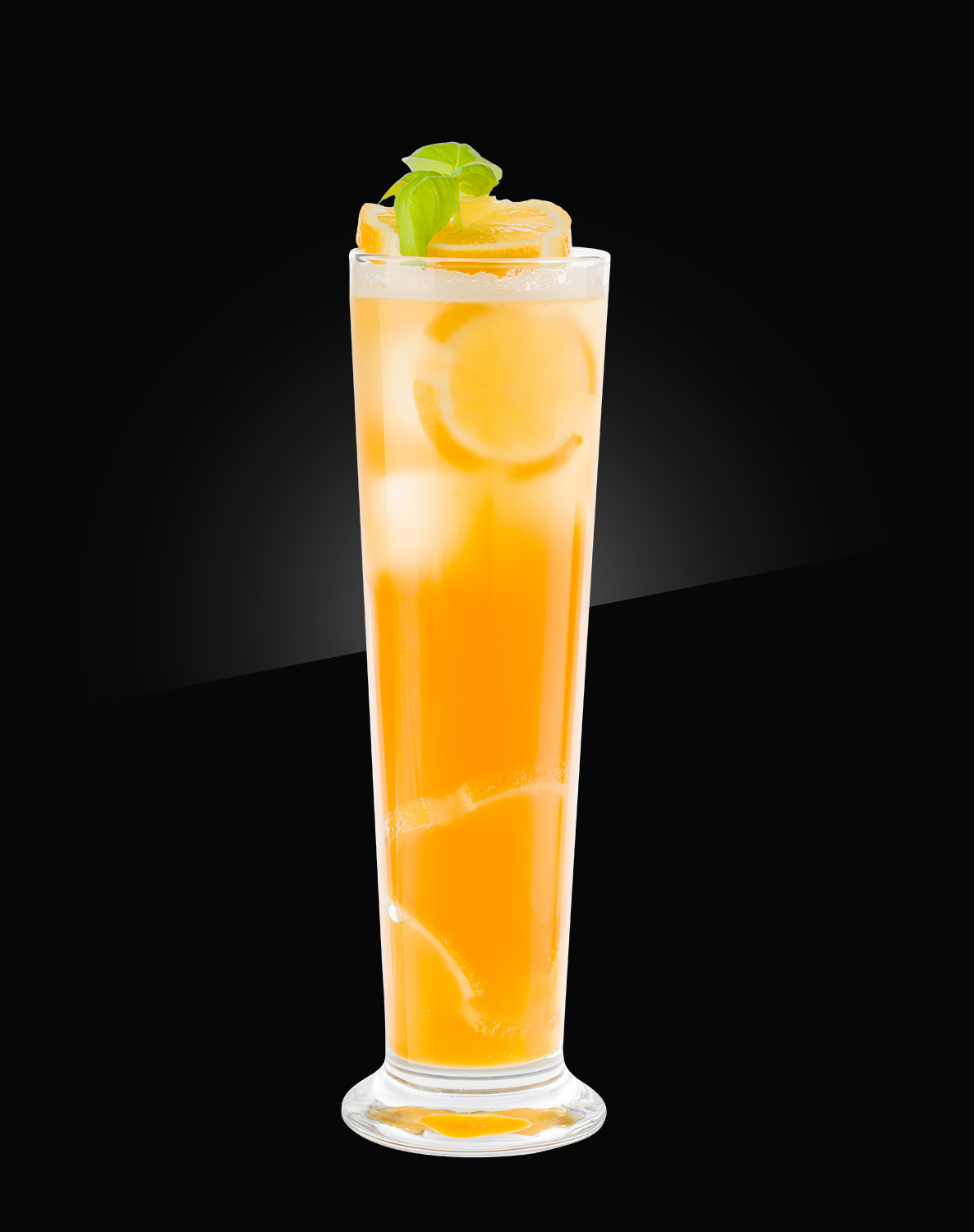 HERB non alcoholic Mocktail paradise-beer-lemondade