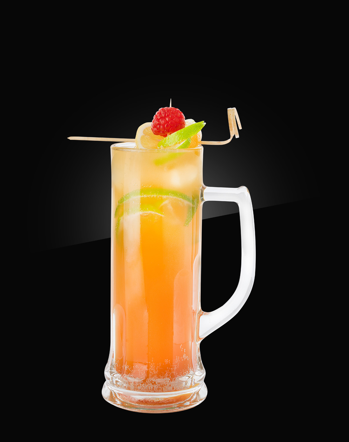 HERB non alcoholic Mocktail peach-beer-shandy